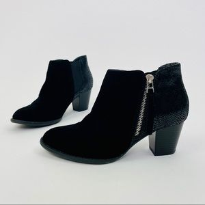 Vionic Upright Bromley Orthaheel Leather Bootie